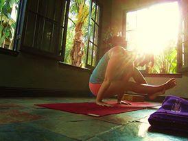 Moonlighting as a yoga teacher